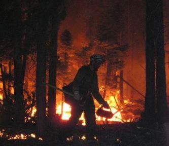 Wildfire burns 15 percent of Lassen Volcanic National Park