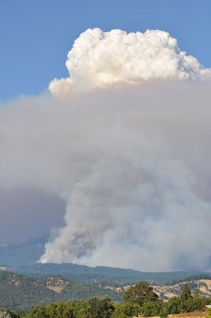 North Pass fire