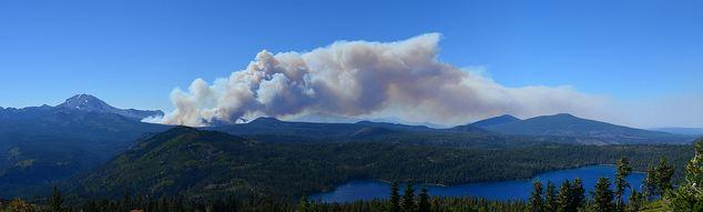 Reading Fire Lassen National Park
