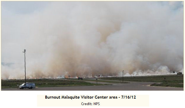 McFaddin National Wildlife Refuge burnout