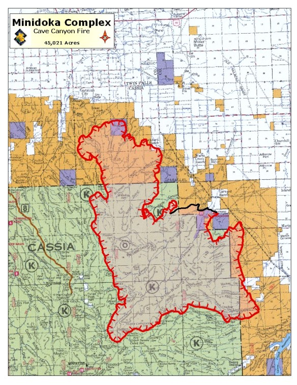 Idaho Fires Short On Resources Wildfire Today