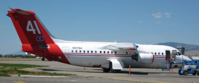 Neptune gains approval to bring on a second jet-powered BAe-146 air tanker