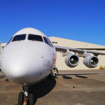 Air Spray BAe-146 Credit Air Spray