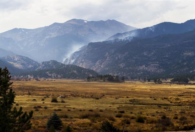 Fern Lake Fire 10-11-2012