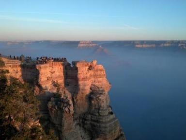 "Prescribed fire smoke adds ""texture"" to views of the Grand Canyon"