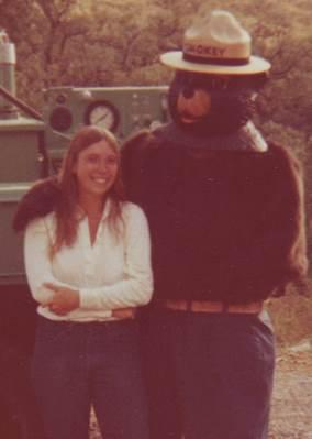 Linda Strader and Smokey