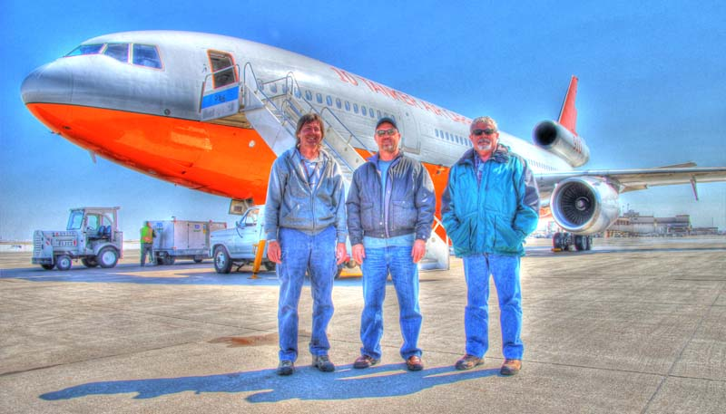 Tanker 910 flight crew