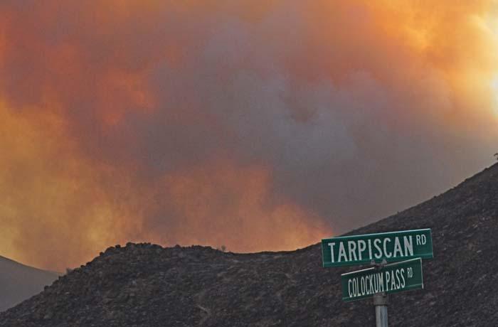Colockum Tarps Fire
