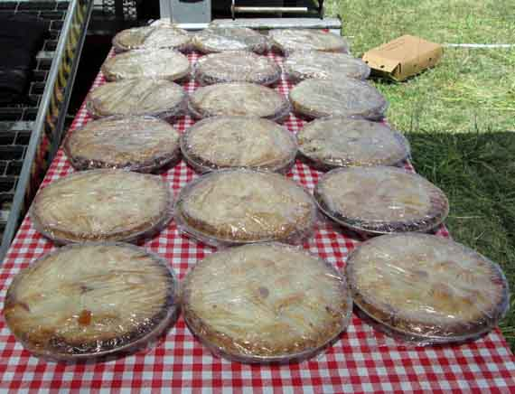 Pies at Smith Ranch Fire