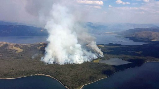 Fires in Yellowstone