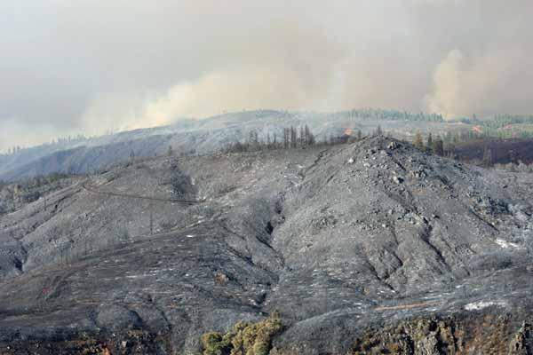 Rim Fire, August 21, 2013.