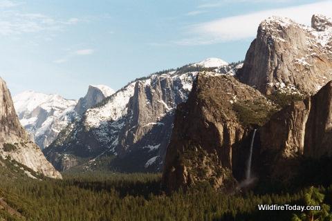 Yosemite Valley January, 1997