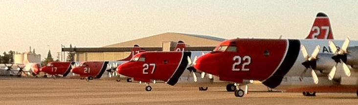 Aero Union's P-3s at McClellan