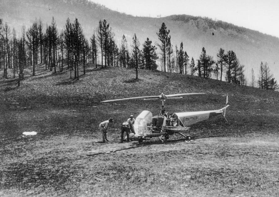 Mann Gulch fire, historic photos