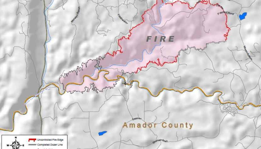 California: King Fire near Pollock Pines - Wildfire Today