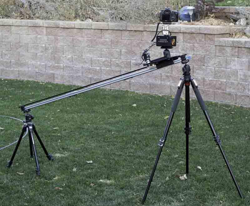 camera slider or dolly