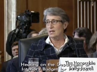 Sally Jewell, Secretary of the Interior
