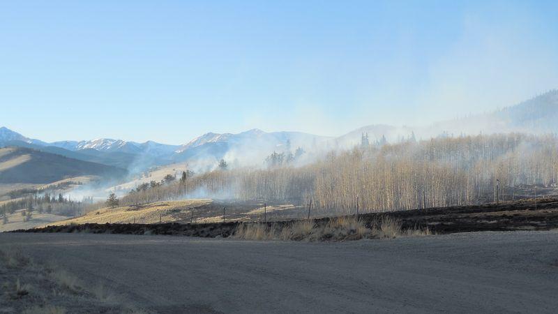 Snyder Creek 2 fire