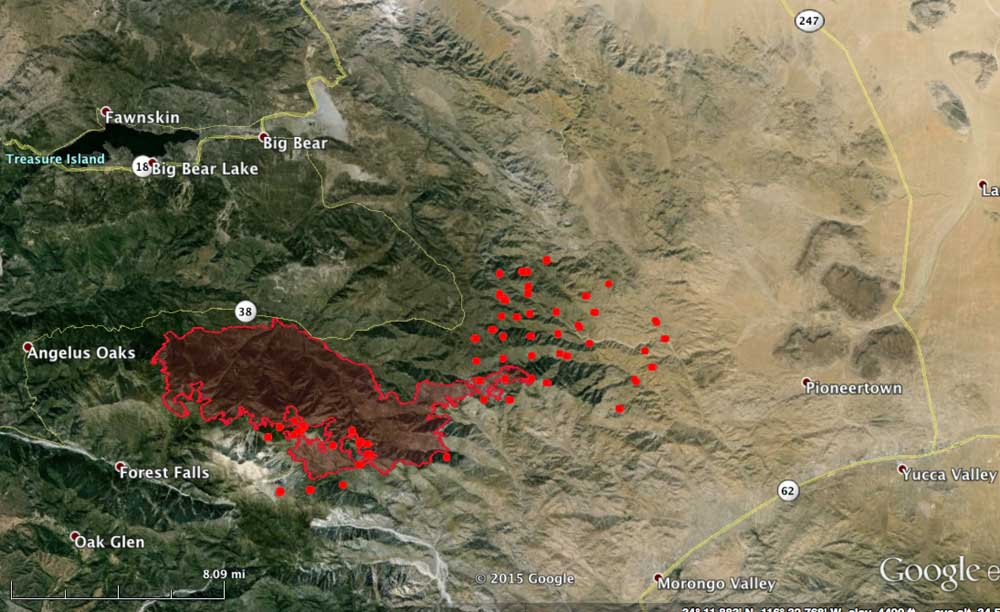 Map Oregon Fires Today
