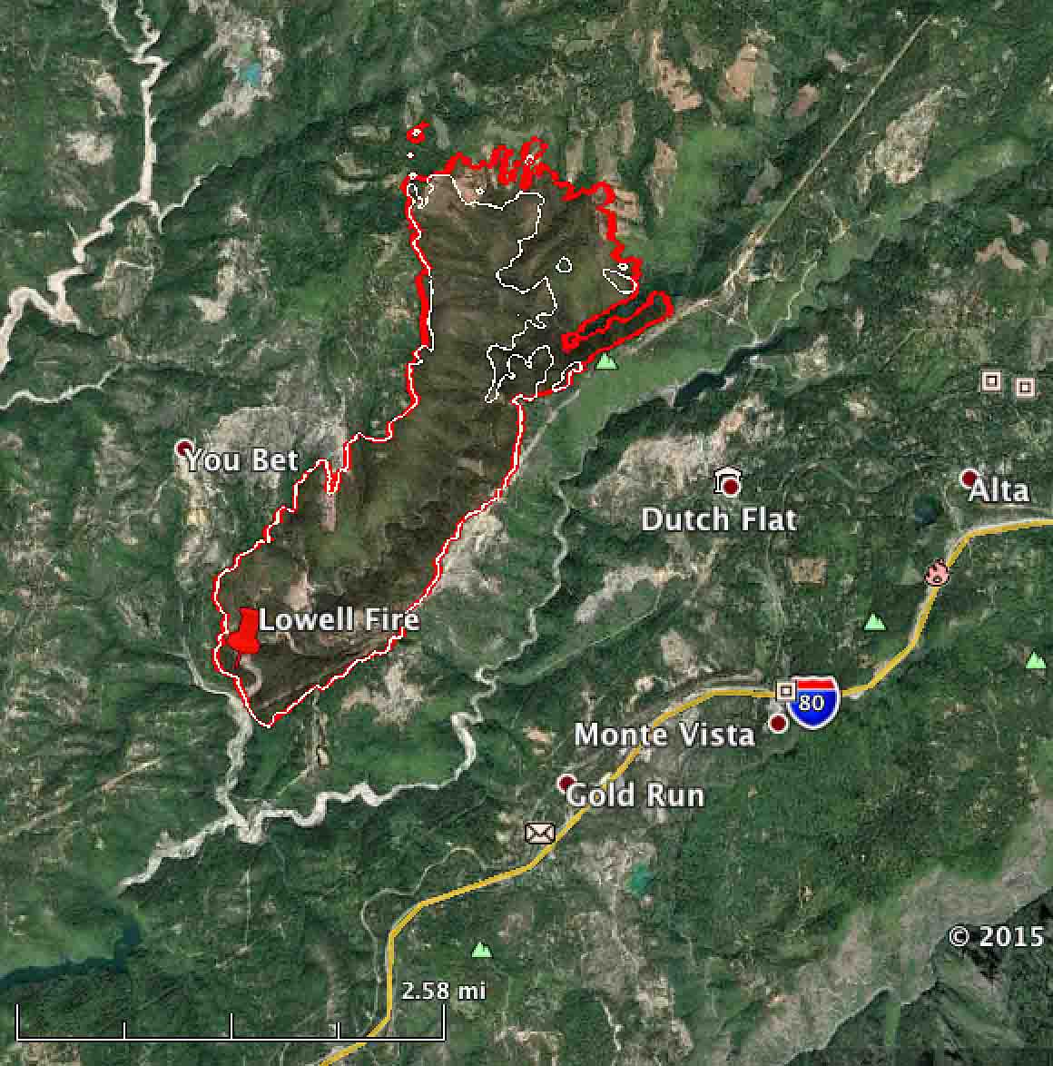 US Forest Service Active Fire Mapping Program Mapcruzin Free GIS - Us forest service fire map california
