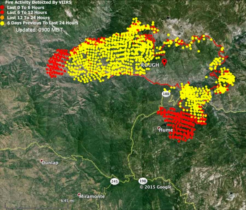 map rough fire