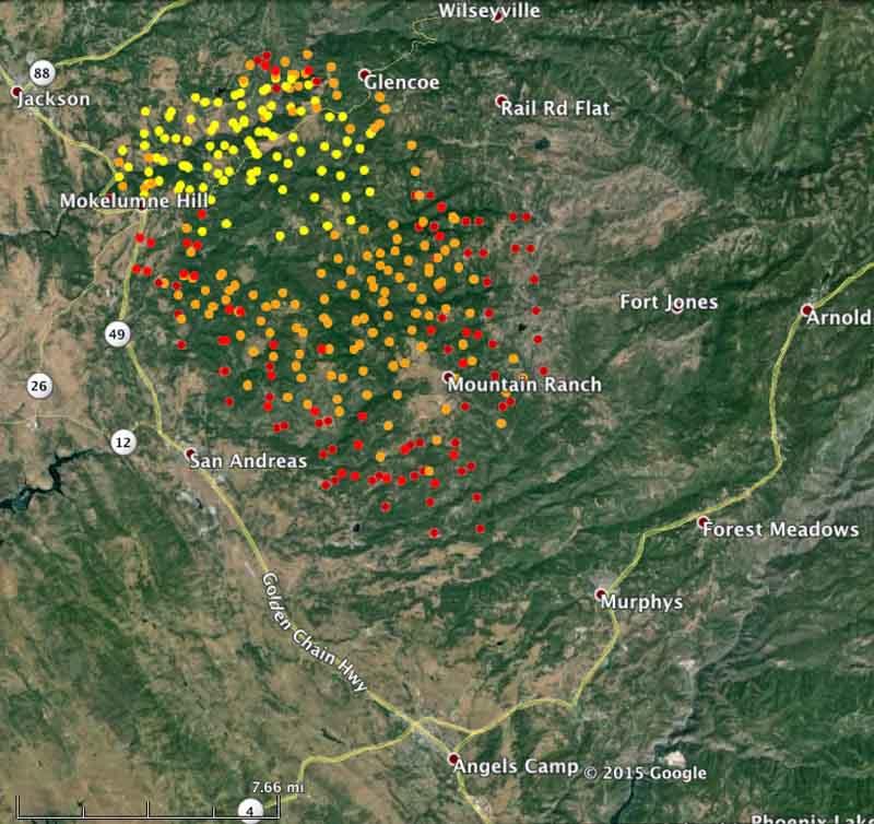 map butte fire