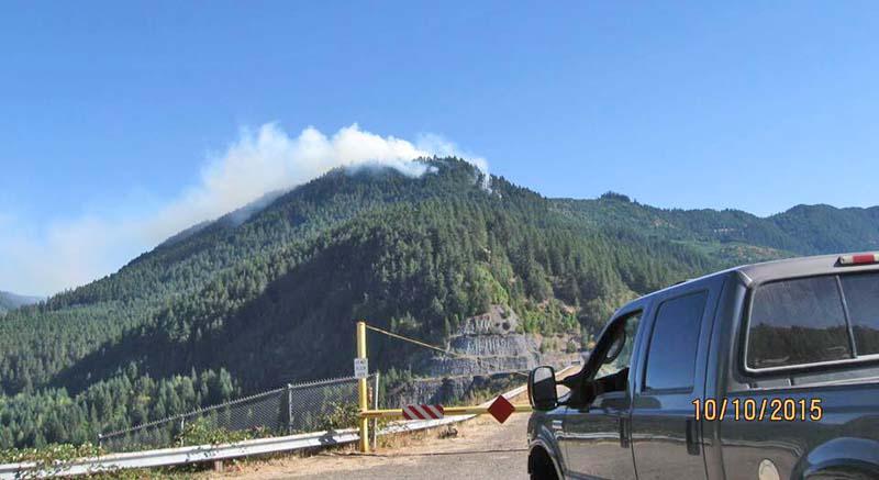 Bald Butte area fire