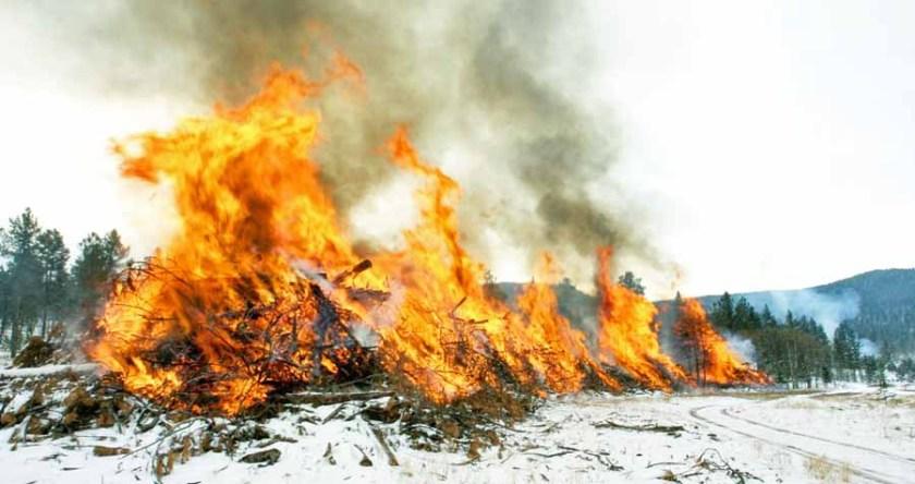 pile burn