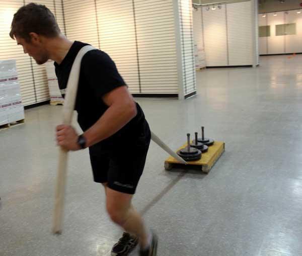 Canada firefigher fitness test