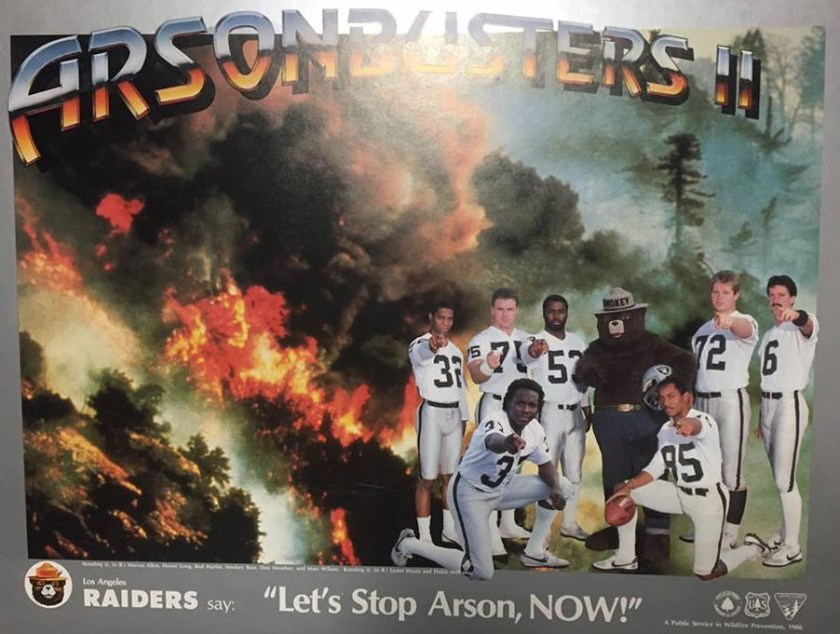 Arson Busters Raiders 1986