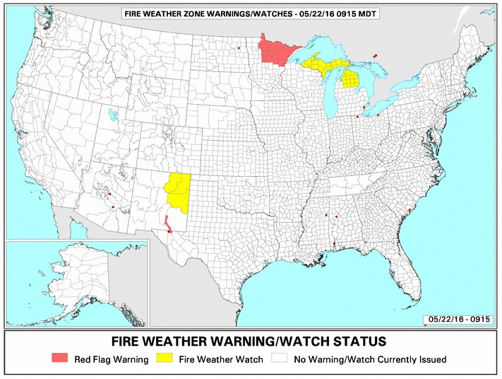 Red Flag Warning Archives - Page 32 of 75 - Wildfire Today