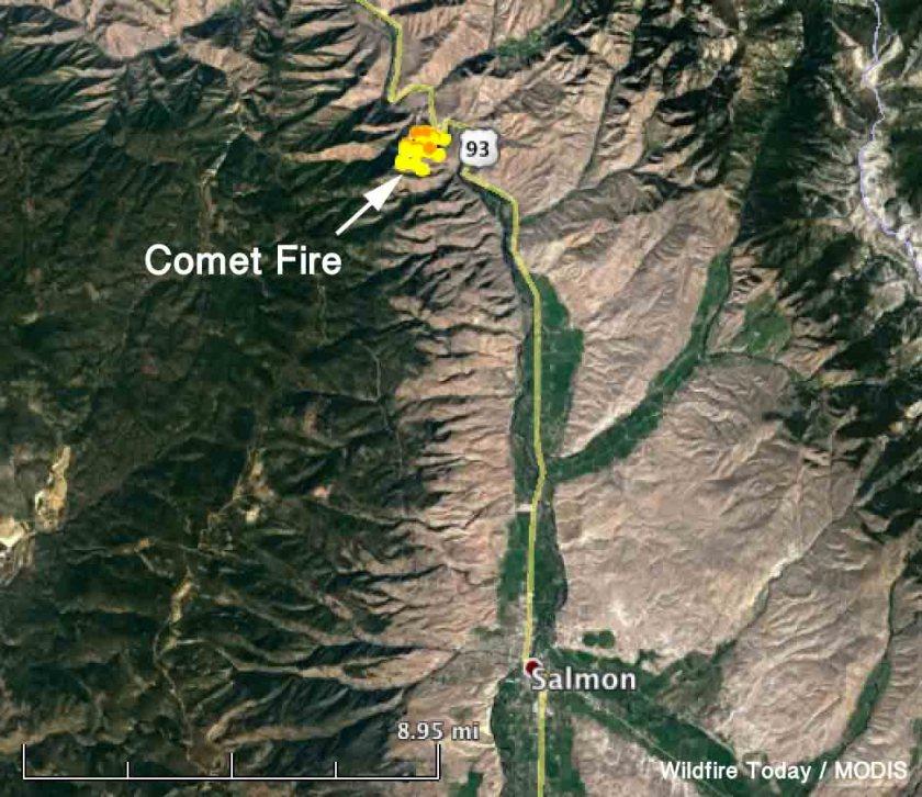 map Comet Fire