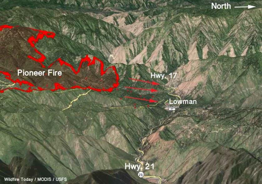 map Pioneer Fire 3-d