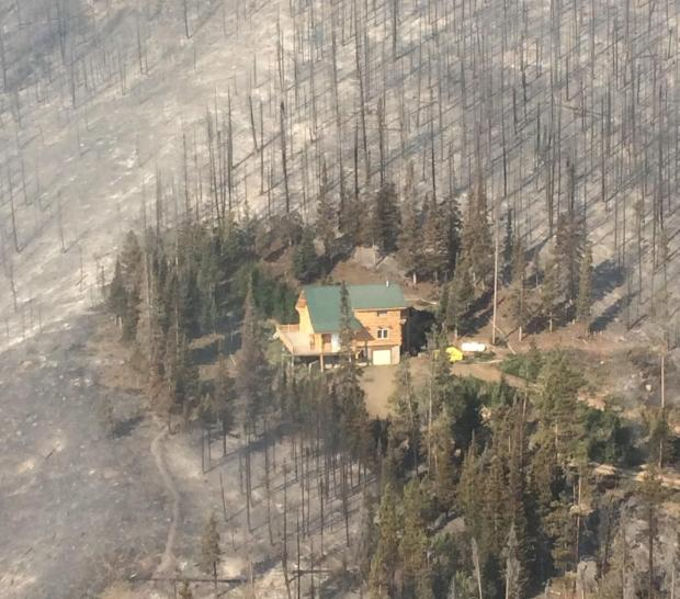 Beaver Creek fire saved structure