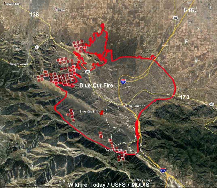 map blue cut fire