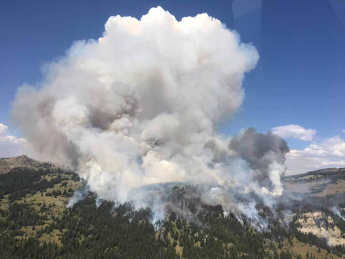 Fire activity increases in Wyoming