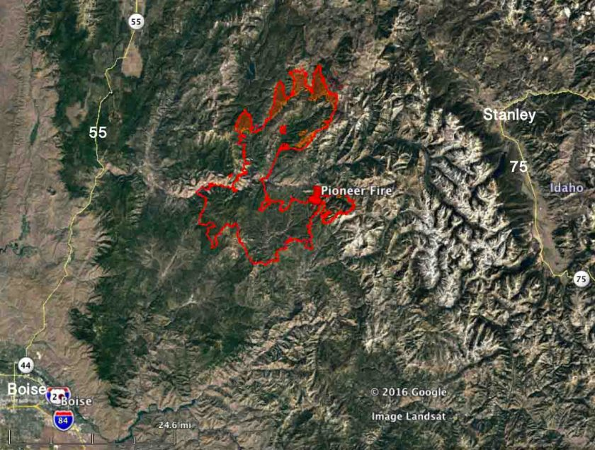 Map Pioneer Fire