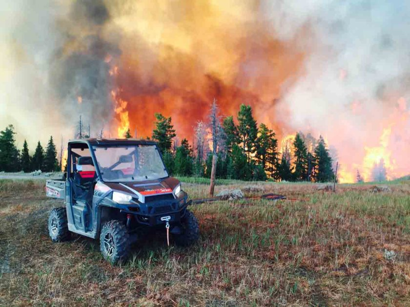 Twin Lakes Fire