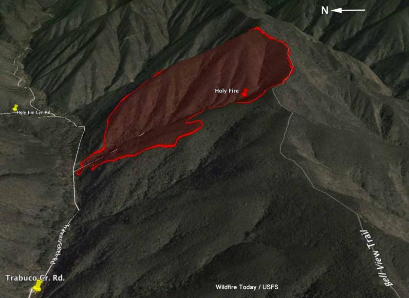 map Holy fire 3-d