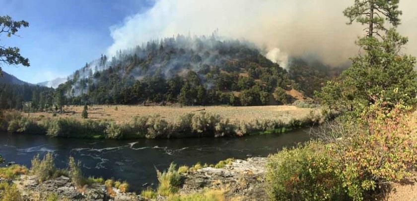 Gap Fire California