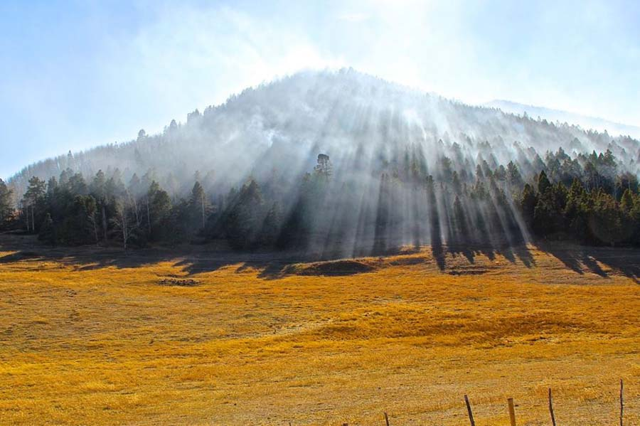 Spread of the Junkins Fire slows