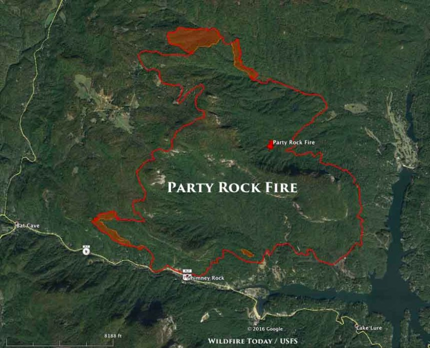 map party rock fire