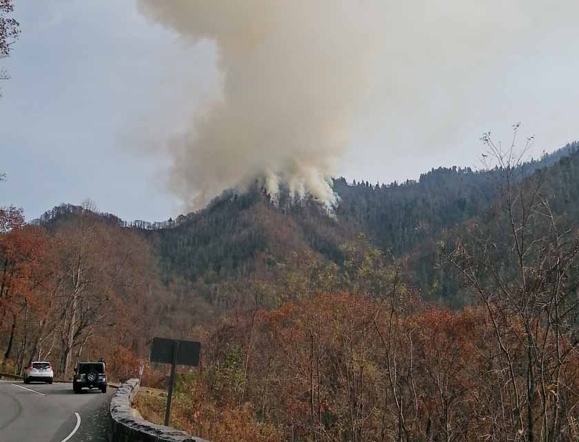 Chimney Tops 2 Fire August 27, 2016