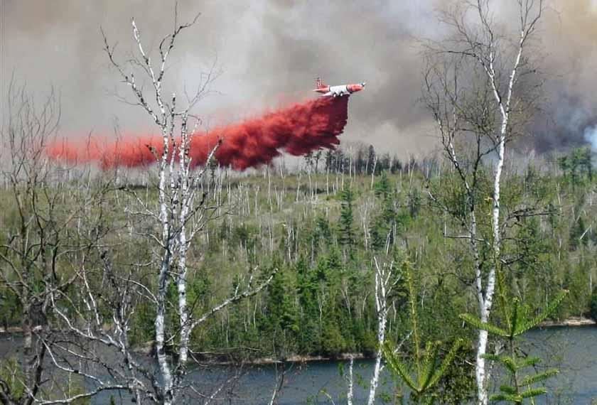 P2 Ham Lake Fire 2007 Minnesota