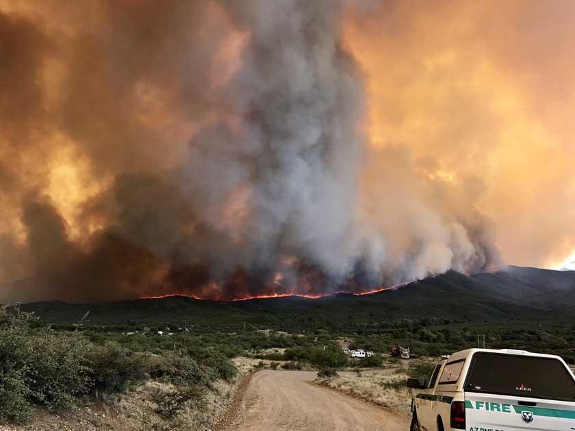 Goodwin Fire, June 27, 2017