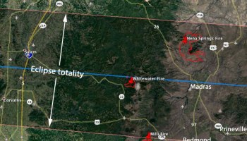 Wildfires In Northwest California And Southern Oregon Were Very - Map of southern oregon