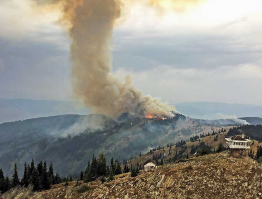 Andy's Hump Fire, Idaho