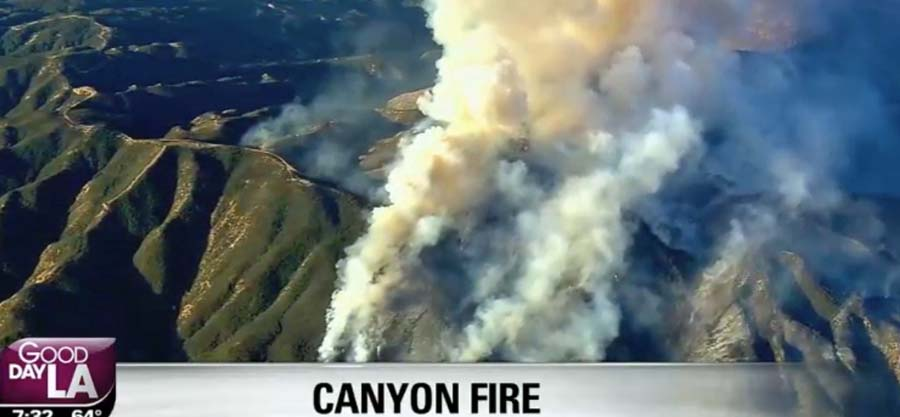 Canyon Fire Archives - Wildfire Today