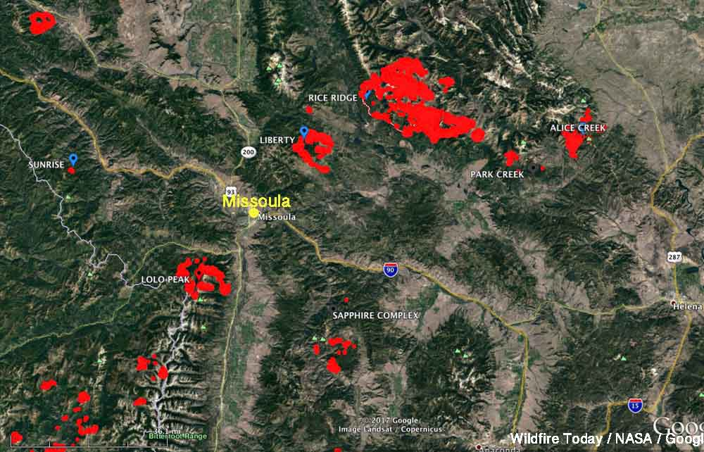 Rice Ridge Fire Archives Wildfire Today