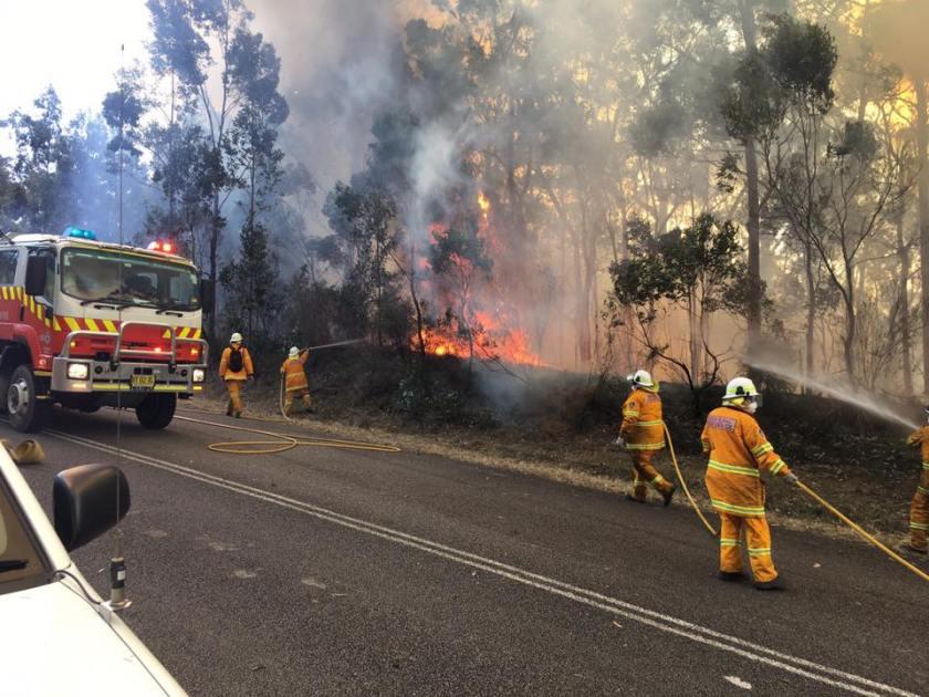 NSW bush fire